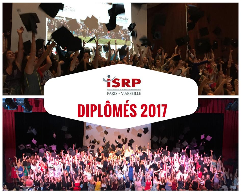 Remises des diplômes ISRP